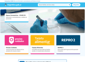 Argentina.gov.ar thumbnail