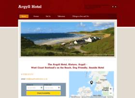 Argyllhotelkintyre.co.uk thumbnail