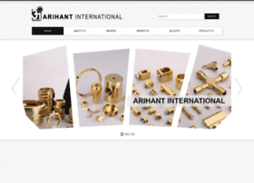 Arihant-international.in thumbnail