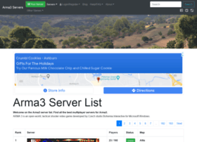 Arma3-servers.net thumbnail