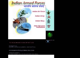 Armedforces.nic.in thumbnail