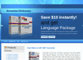 Armenian-dictionary.com thumbnail