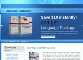 Armenian-dictionary.com thumbnail
