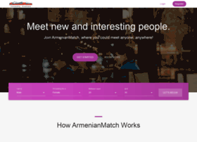 Armenian dating network