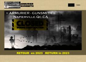 Armurier-gunsmith.com thumbnail