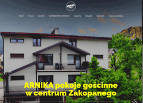 Arnikazakopane.pl thumbnail
