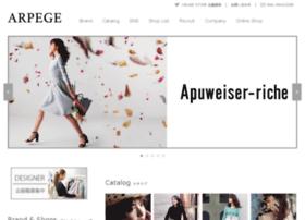 Arpege.co.jp thumbnail
