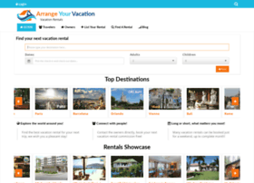 Arrangeyourvacation.com thumbnail