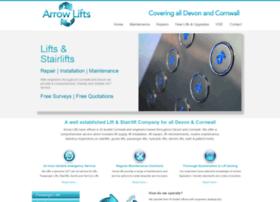 Arrow-lifts.co.uk thumbnail