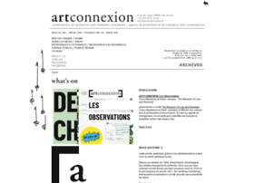 Artconnexion.org thumbnail