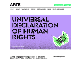 Artejustice.org thumbnail