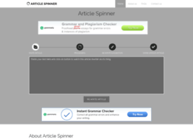 Article-spinner.co thumbnail