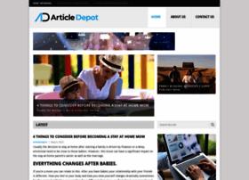 Articledepot.net thumbnail