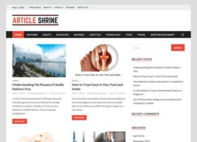 Articleshrine.com thumbnail