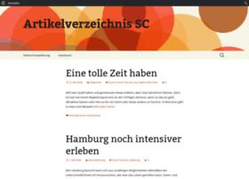 Artikelverzeichnis-sc.de thumbnail