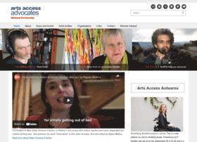 Artsaccessadvocates.org.nz thumbnail