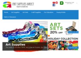 Artsuppliesdirect.com thumbnail