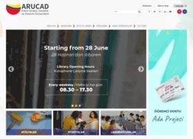 Arucad.edu.tr thumbnail