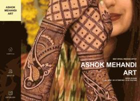 Ashokmehandiart.in thumbnail