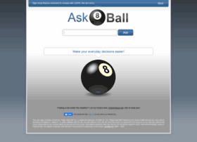 Ask8ball.net thumbnail