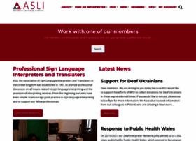 Asli.org.uk thumbnail