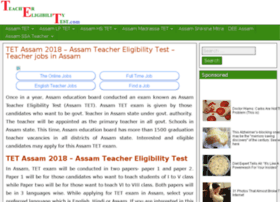 Assam.teachereligibilitytest.com thumbnail