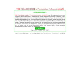 Assamcollegecode.info thumbnail