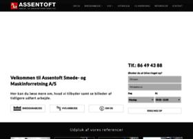 Assentoft-smeden.dk thumbnail