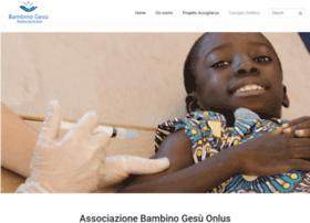 Associazionebambinogesu.org thumbnail