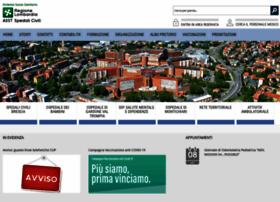 Asst-spedalicivili.it thumbnail