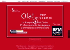Assurances-agent-commercial-immobilier.fr thumbnail