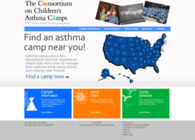 Asthmacamps.org thumbnail