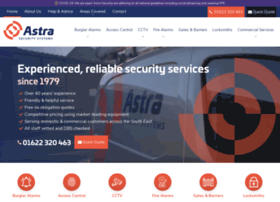 Astrasecurity.co.uk thumbnail