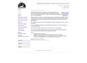 Astronomenclub.nl thumbnail
