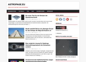 Astropage.eu thumbnail