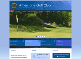 Atherstonegolfclub.co.uk thumbnail
