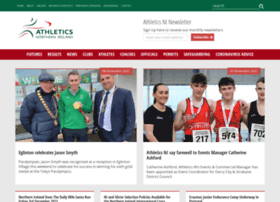 Athleticsni.org thumbnail