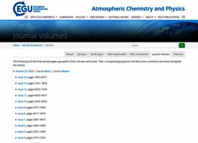 Atmos-chem-phys.net thumbnail