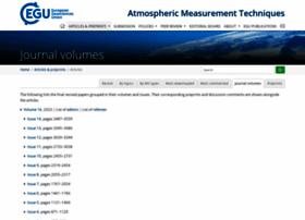 Atmos-meas-tech.net thumbnail