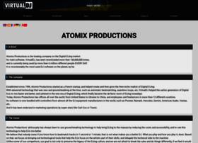 Atomixproductions.com thumbnail