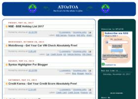 Atoztoa.info thumbnail