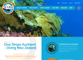 Aucklandscuba.co.nz thumbnail