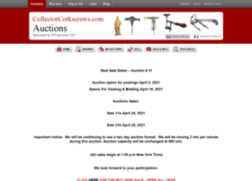 Auction.collectorcorkscrews.com thumbnail