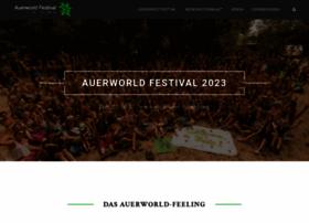 Auerworld-festival.de thumbnail
