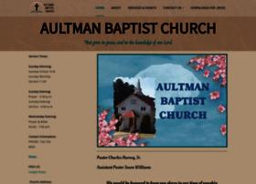Aultmanbaptistchurch.org thumbnail