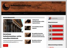 Aussenwirtschaftslupe.de thumbnail