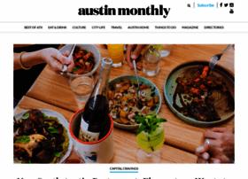 Austinmonthly.com thumbnail