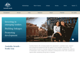 australiaawardssouthwestasia org at WI  Australia Awards South West Asia