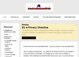 Australiagenweb.org thumbnail