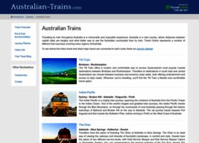 Australian-trains.com thumbnail